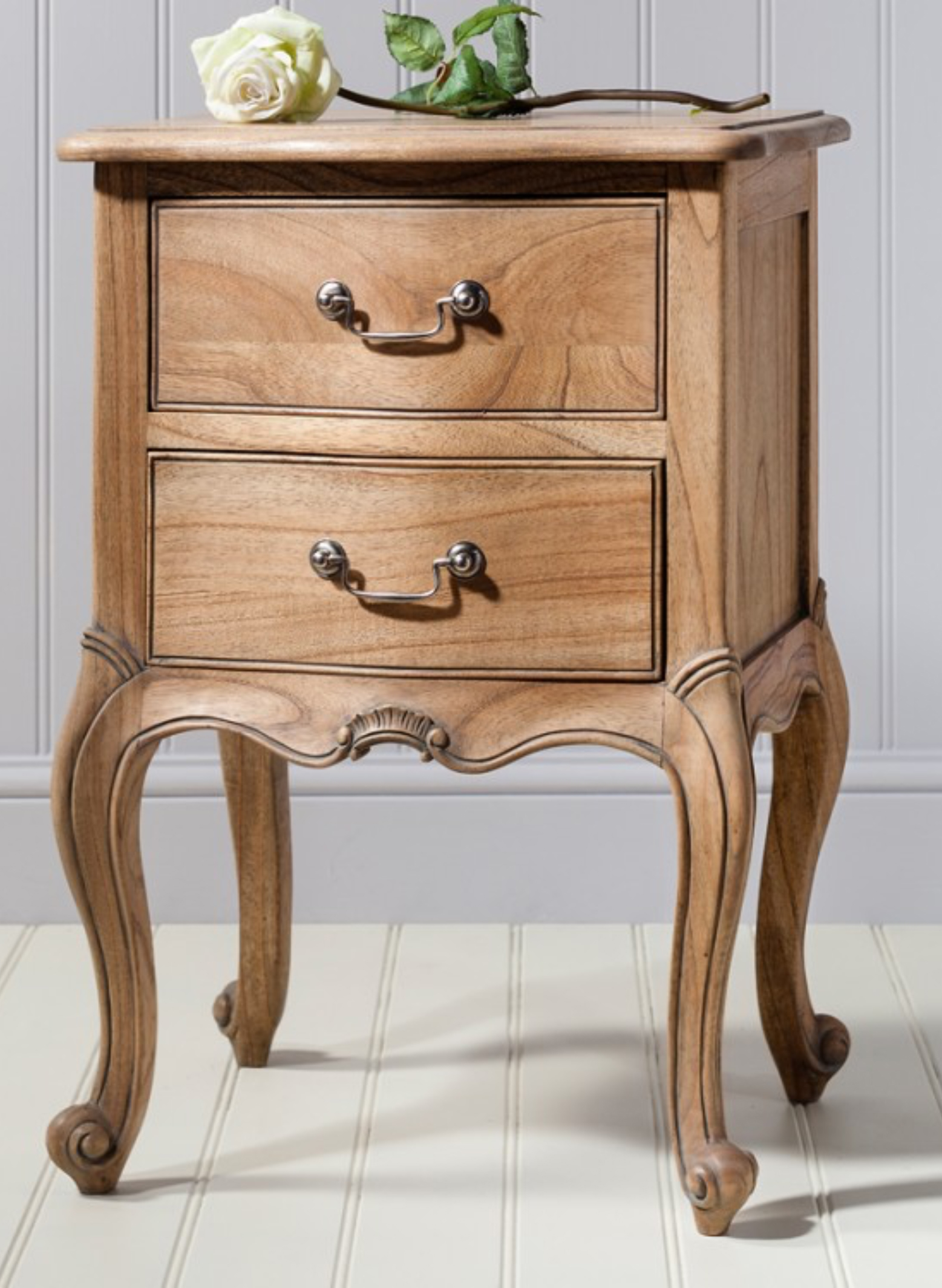 French Chic Bedside Table