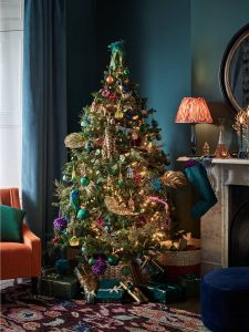 luxury interior design, festive interior design